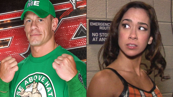 Is cena and aj dating