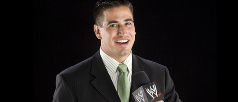 Justin Roberts - WWE ring announcer
