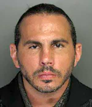 Matt Hardy second mugshot