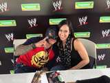 AJ Lee and Rey Mysterio