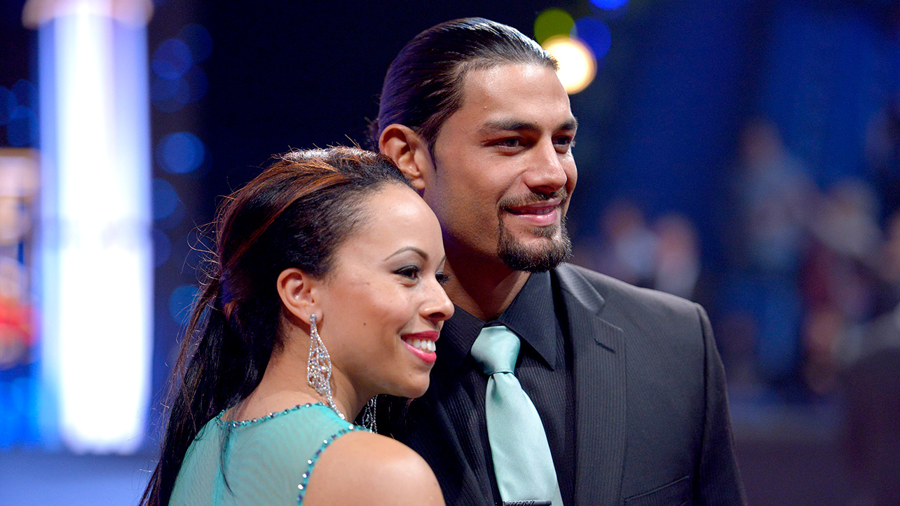 Roman Reigns and Galina Joelle Becker