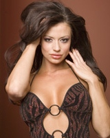 Candice Michelle appeared nude for Playboy
