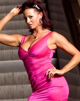 Candice Michelle has posed naked several times
