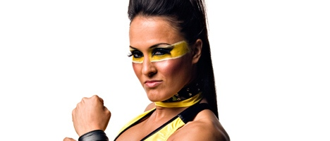 TNA Knockout Alissa Flash - Cheerleader Melissa