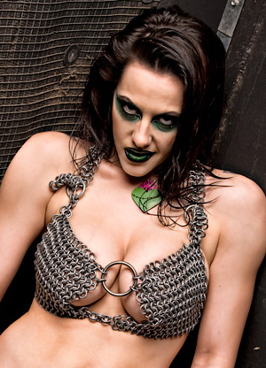 Daffney has a big rack