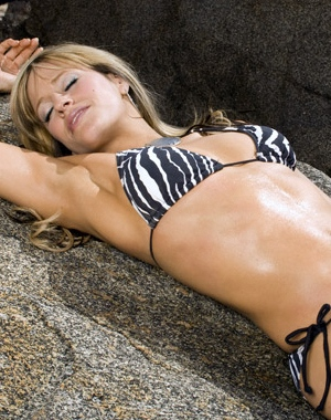 It is unlikely that Lilian Garcia will ever pose for Playboy