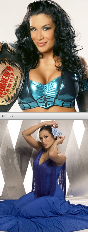 Melina is a pretty hot WWE Diva if I do say so myself