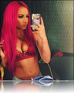 Sasha banks naked