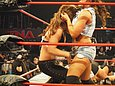 It pretty much goes without saying that Mickie James has very nice boobs. While Mickie James has suffered multiple wardrobe malfunctions over the course of her career, she has indeed posed nude. Many WWE Universe members dream of Mickie James appearing with nothing on. While Mickie James has appeared in her underwear on WWE programming, she has not appeared topless. Mickie James is not naked here.