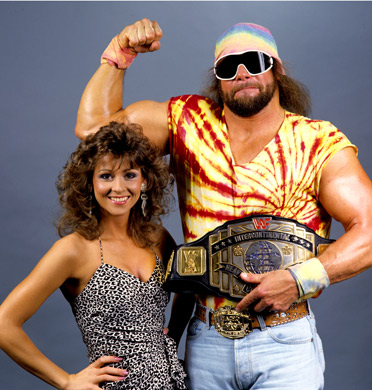 Randy Macho Man Savage and Miss Elizabeth