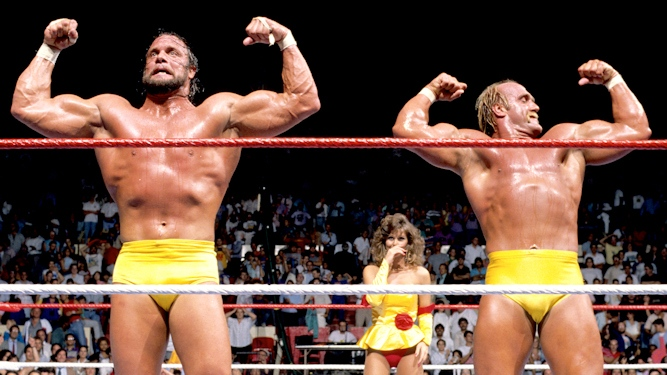 The Mega Powers explode