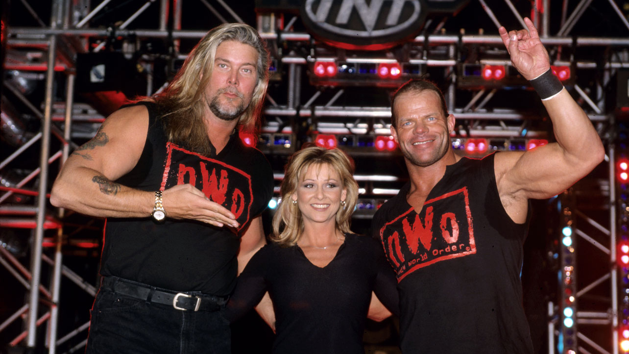 Kevin Nash, Lex Luger and Miss Elizabeth