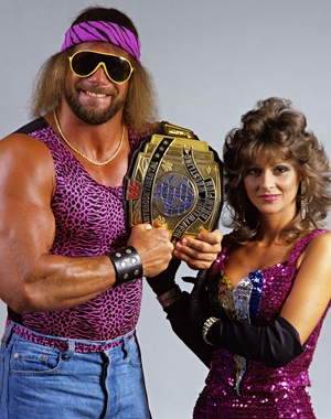 Randy Savage and Miss Elizabeth