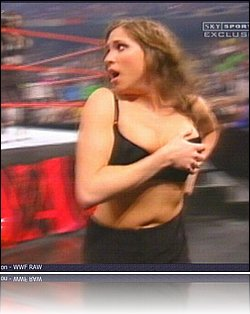 Not stephanie mcmahon cleavage sex