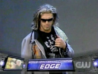 Edge want the World Title 006