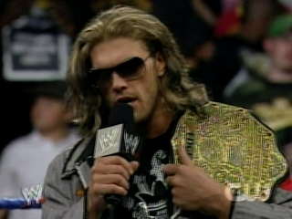 Edge want the World Title 033