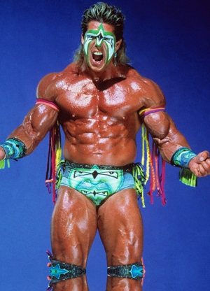 Ultimate Warrior eats steroids for breakfast