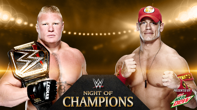 Brock Lesnar vs. John Cena