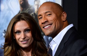 "Dwayne ""The Rock"" Johnson and Lauren Hashian"