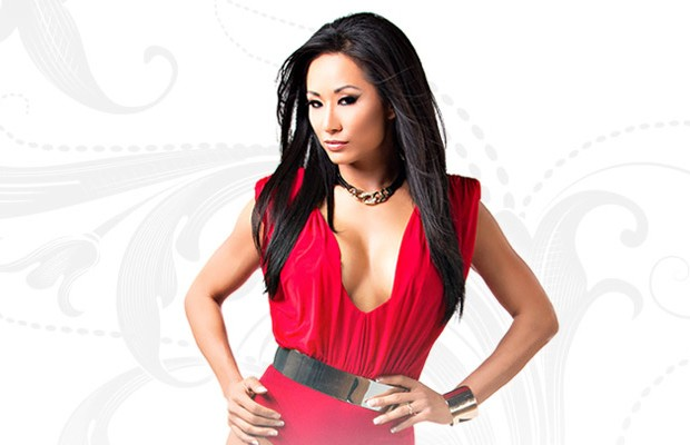 Gail Kim has posed nude. Gail Kim posed naked for a Korean company in 2005. Gail Kim appears naked in a cell phone ad. This is not a Gail Kim fansite.