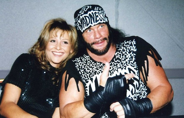 """Macho Man"" Randy Savage and Elizabeth"