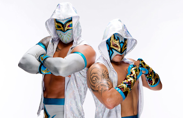 The Lucha Dragons - Kalisto and Sin Cara