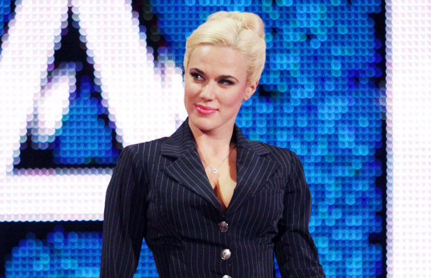 Confirm. Russian wwe diva lana what phrase