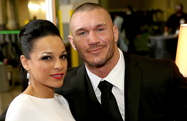 Aj Lee Wedding Ring Randy Orton WWE Backstage News Rare Photos MTM