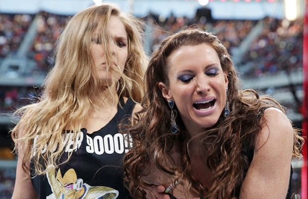 Ronda Rousey and Stephanie McMahon