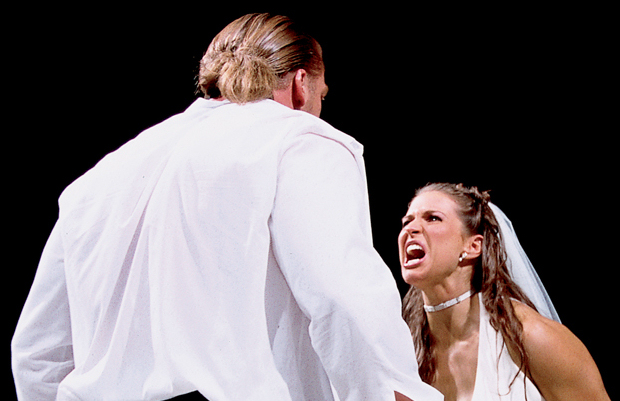 triple h and stephanie mcmahon renew their wedding vows