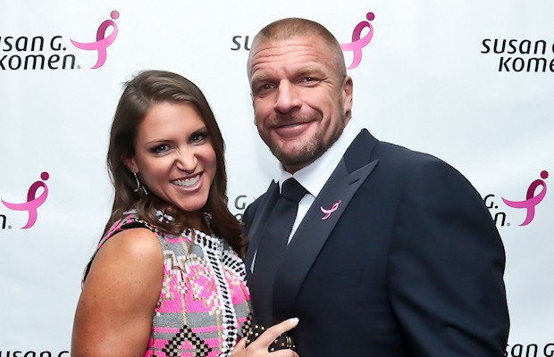 Triple H and Stephanie McMahon