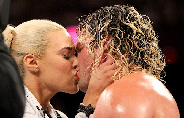 Dolph Ziggler and Lana