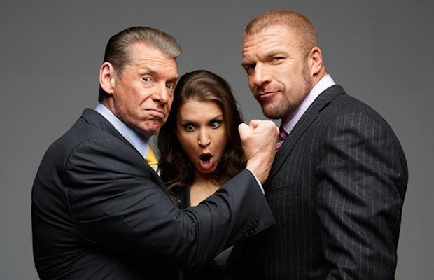 Vince McMahon, Stephanie McMahon and Triple H