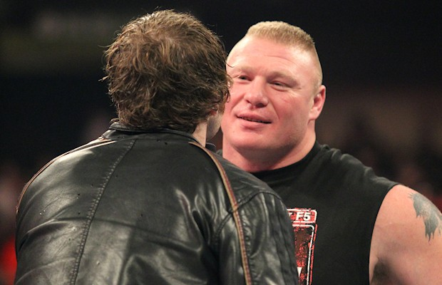 Brock Lesnar and Dean Ambrose