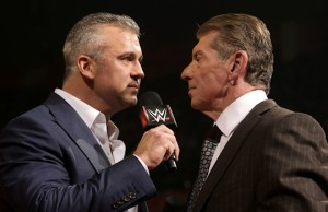 Shane and Vince McMahon