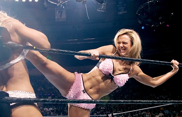 Not doubt Stacy keibler wrestling naked with you