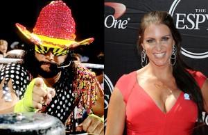 """Macho Man"" Randy Savage and Stephanie McMahon"