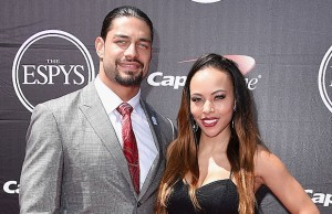 Roman Reigns and Galina Becker
