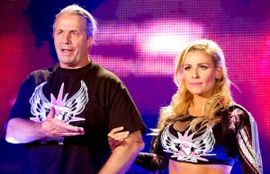 Bret Hart and Natalya
