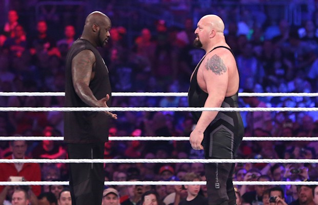 Shaquille O'Neal and Big Show