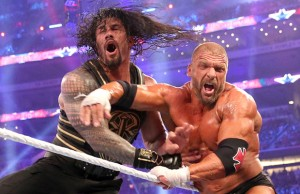 Triple H vs. Roman Reigns