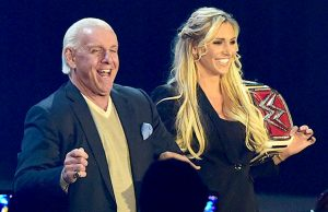 Charlotte and Ric Flair