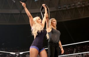 Dana Brooke and Charlotte