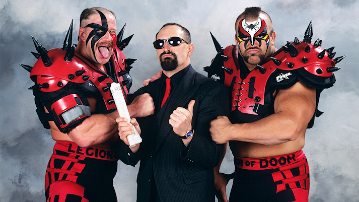 The Legion of Doom and Paul Ellering