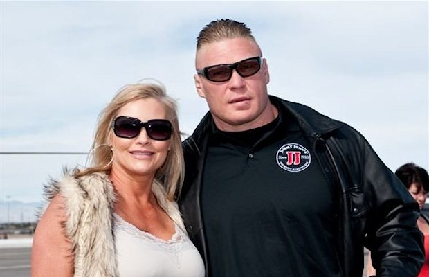 Brock and Rena Lesnar