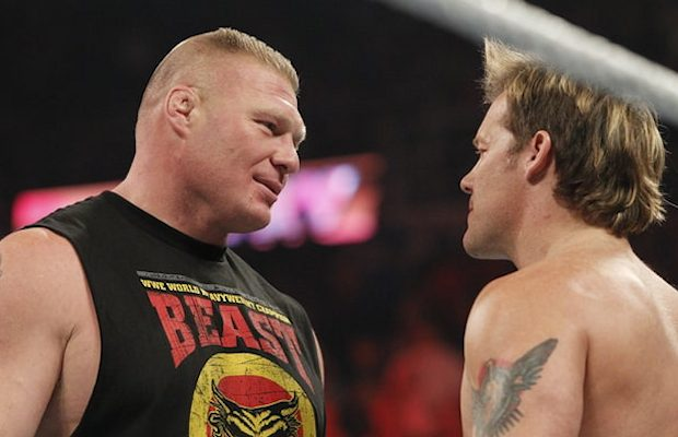 Brock Lesnar and Chris Jericho