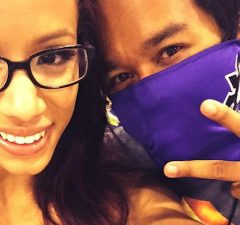 Sasha Banks and Mikaze