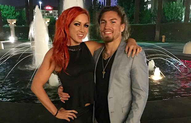 Becky Lynch and Luke Sanders