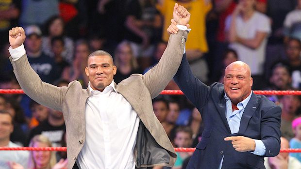 Kurt Angle and Jason Jordan