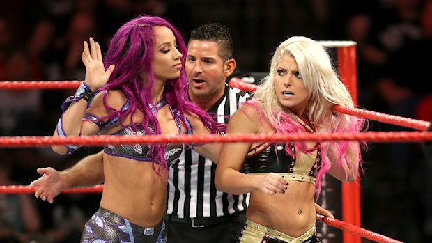 Sasha Banks vs. Alexa Bliss